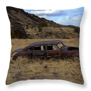 Forgotten Classic Throw Pillow