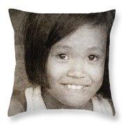 Forgotten Faces 11 Throw Pillow