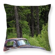 Forgotten Gmc Throw Pillow
