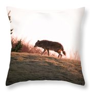 Forlorn One Throw Pillow