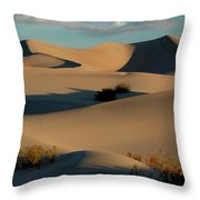 Form And Light At Death Valley Throw Pillow