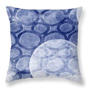 Formed In Winter Throw Pillow