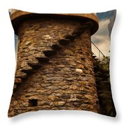 Fort Adams State Park Throw Pillow