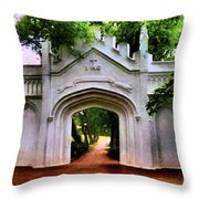 Fort Canning Park Throw Pillow