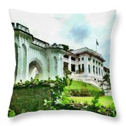 Fort Canning Park Visitor Centre Throw Pillow