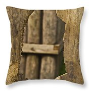 Fort In Layers Throw Pillow