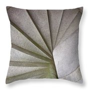Fort Knox Granite Spiral Staircase Throw Pillow