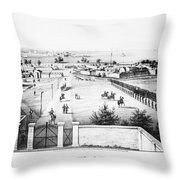 Fort Mchenry, 1862 Throw Pillow