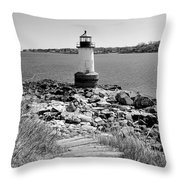 Fort Pickering Light Throw Pillow