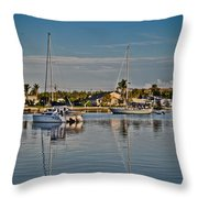 Fort Pierce Sweetness Throw Pillow