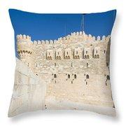 Fort Quaitbey Throw Pillow