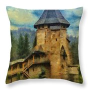 Fortified Faith Throw Pillow