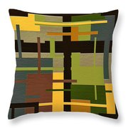 Fortune Throw Pillow by Ely Arsha