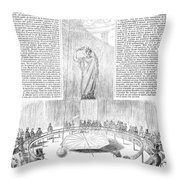 Foucaults Pendulum, 1851 Throw Pillow