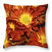 Foulee De Petales - Original Throw Pillow
