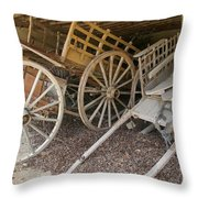 Found In A French Barn Throw Pillow