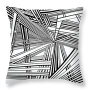 Foundations Throw Pillow