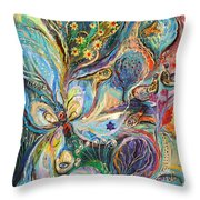 Four Elements Air Part 2 From 4 Throw Pillow