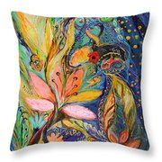 Four Elements Water Part 1 From 4 Throw Pillow