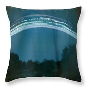 Four Weeks Of The Sun Moving Throw Pillow