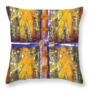 Four Women In One Throw Pillow