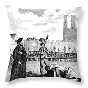 Foxes Book Of Martyrs Throw Pillow
