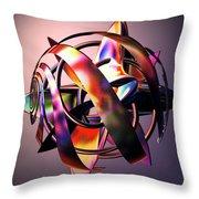 Fractal Abstract Viii Throw Pillow