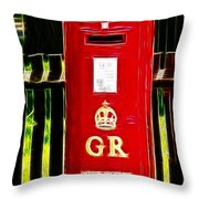 Fractalius Pillar Box Throw Pillow