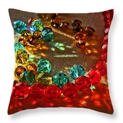 Fractured Light I Throw Pillow