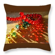 Fractured Light II Throw Pillow