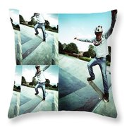 Frame By Frame Throw Pillow