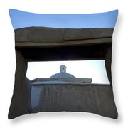 Framed Elegance Throw Pillow