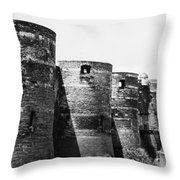 France: Chateau Dangers Throw Pillow