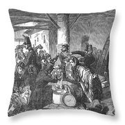 France: Custom House, 1854 Throw Pillow