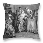 France: Daily Life Throw Pillow