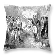 France: Imperial Prince Throw Pillow