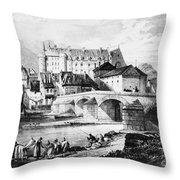 France: Lapalisse Throw Pillow