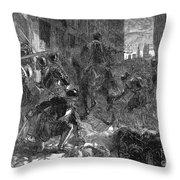 France: Massacre, 1572 Throw Pillow