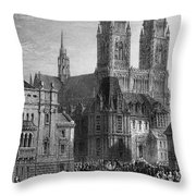 France: Orleans Throw Pillow