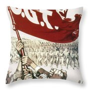 France: Popular Front, 1936 Throw Pillow