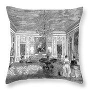 France: Royal Visit, 1855 Throw Pillow