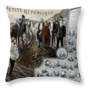 France: Socialism, 1900 Throw Pillow