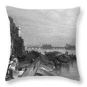 France: Tours Throw Pillow