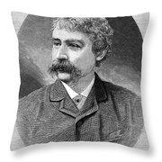 Francis Brett Harte Throw Pillow
