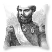 Francisco Solano Lopez Throw Pillow