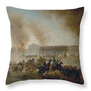 Franco-prussian War, 1870 Throw Pillow