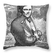 Francois Lolonnois Throw Pillow