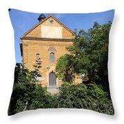Franconian Village Church Throw Pillow