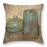 Frankhoma Pottery Throw Pillow by Betty LaRue
