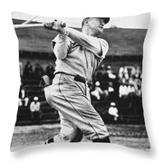 Frankie Frisch (1898-1973) Throw Pillow